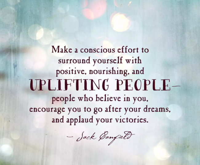 Copy of uplifting people quote