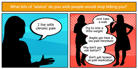 Your answers  the worst chronic pain advice