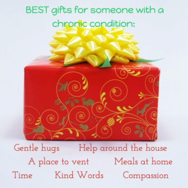 Gifts chronic condition homemade quote