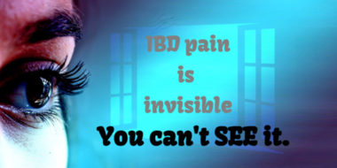Ibd pain invisble