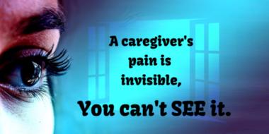 Alz caregiver pain invisble