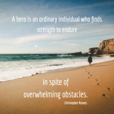 Hero endures