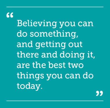 Believing you can