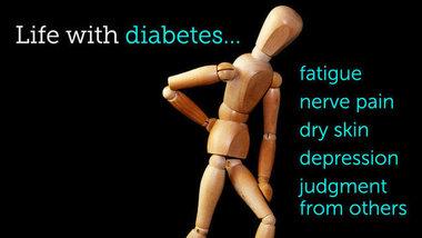 Diabetes stickman