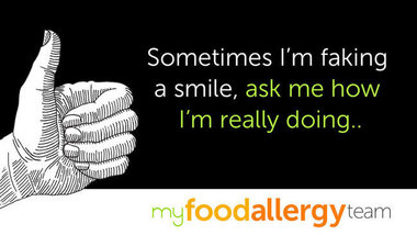 Fb quote fakingit myfoodallergyteam textv2