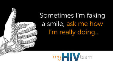 Fb quote fakingit myhivteam textv2
