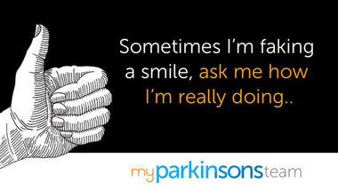 Fb quote fakingit myparkinsonsteam textv2