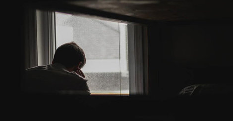 Depression and hyperhidrosis