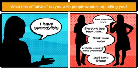 Your answers  the worst spondylitis advice