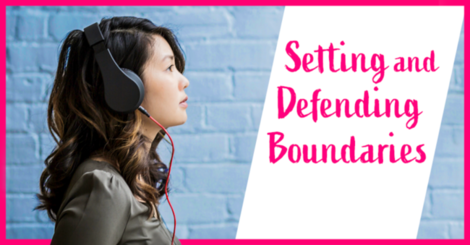 How good boundaries make life with fibromyalgia easier
