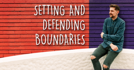 How good boundaries make life with ibd easier