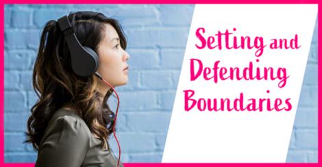 How good boundaries make life with ibs easier