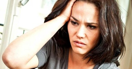 Stress sad headache